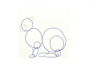 как нарисовать зайца поэтапно 10