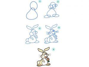 как нарисовать зайца поэтапно 7