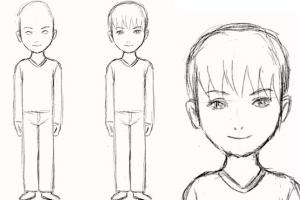 Как научить ребенка в 5 лет поэтапно рисовать человека 4