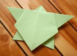 как сделать черепаху из бумаги 1