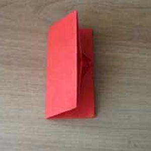 как сделать из бумаги кошелек9