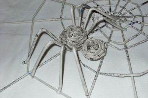 как сделать из бумаги паука 29