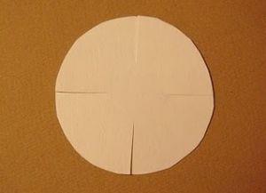 как сделать из бумаги ромашку 2