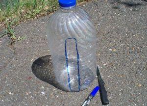 как сделать из бутылки поросенка2