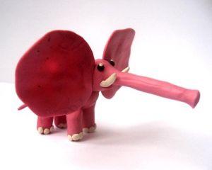 как слепить слона из пластилина 6
