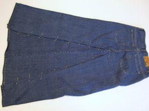 как сшить юбку из джинсов10