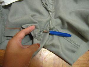 как сшить юбку из джинсов24