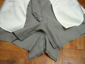 как сшить юбку из джинсов25