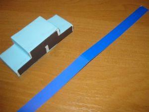 как сделать кораблик из картона 5