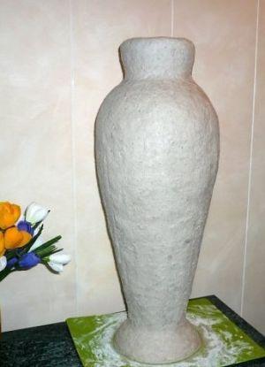 Напольная ваза своими руками 10