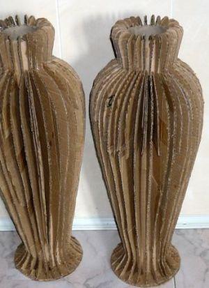 Напольная ваза своими руками 5