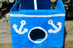 поделка кораблик своими руками 7