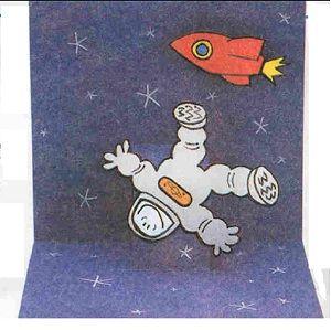 поделка космонавт 22