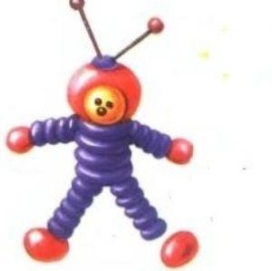 поделка космонавт 3