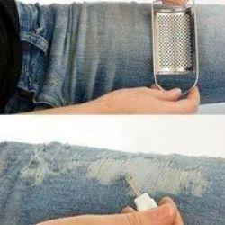 рваные джинсы своими руками1