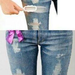рваные джинсы своими руками2
