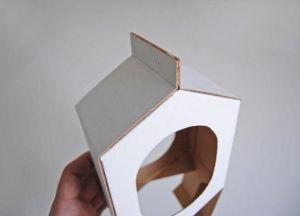 скворечник кормушка из картона12