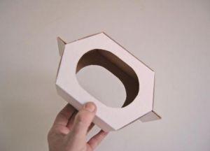 скворечник кормушка из картона 13