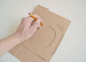 скворечник кормушка из картона 7