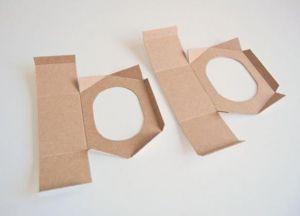 скворечник кормушка из картона 9