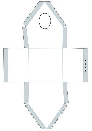 скворечник из картона 5