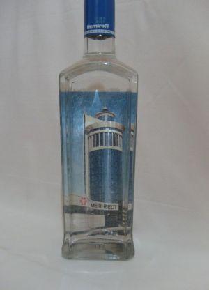 Декупаж новогодних бутылок4