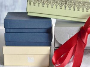 как красиво украсить коробку 15