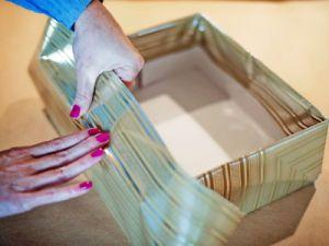 как красиво украсить коробку 8
