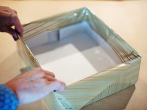 как красиво украсить коробку 9