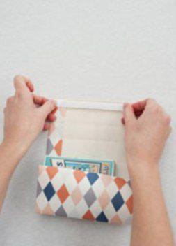 как сделать пакет из бумаги3