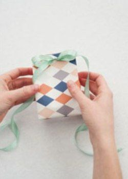 как сделать пакет из бумаги9