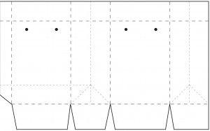 как сделать пакет из бумаги1