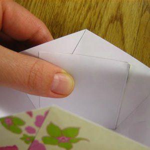 Как сделать из бумаги корзинку12