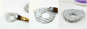 Как сделать кольцо из бумаги12