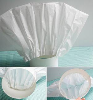 Как сделать колпак из бумаги10