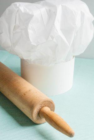 Как сделать колпак из бумаги12