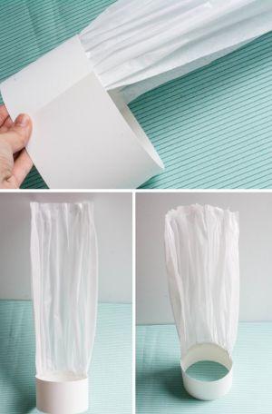 Как сделать колпак из бумаги9