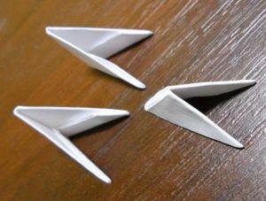 Как сделать лебедя из модулей17