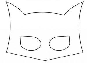 как сделать маску бэтмена из картона 1