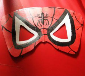 Как сделать маску человека-паука3