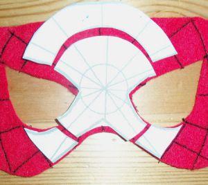 Как сделать маску человека-паука9