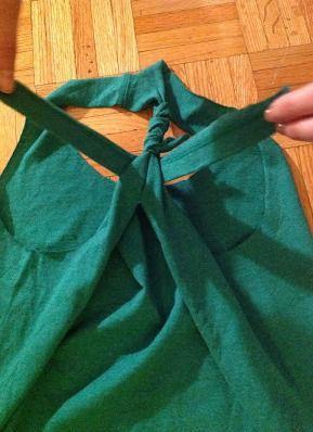 Как сделать майку из футболки30
