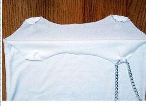 Как сделать майку из футболки5