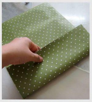 как сделать пакет из бумаги5
