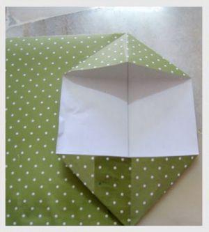 как сделать пакет из бумаги6