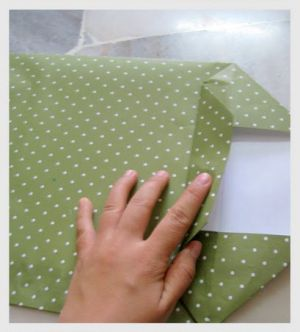 как сделать пакет из бумаги7
