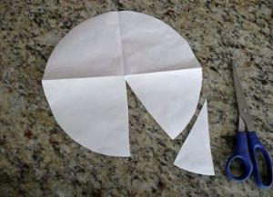 Как сделать парашют из бумаги14