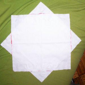 Как сделать парашют из бумаги9