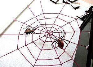 Как сделать паутину своими руками13