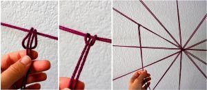Как сделать паутину своими руками9